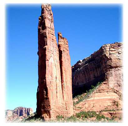 Spider Rock, Home of Spider Woman and Weaving